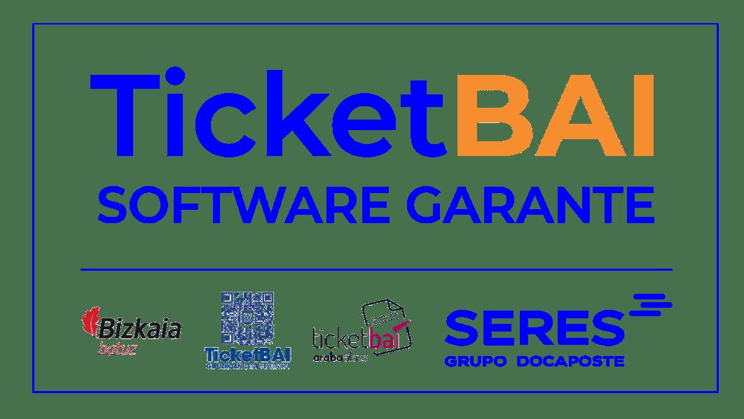 Sello TicketBAI v2_Azul y Naranja