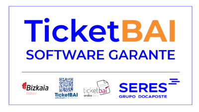 Sello TicketBAI v2_Azul y Naranja